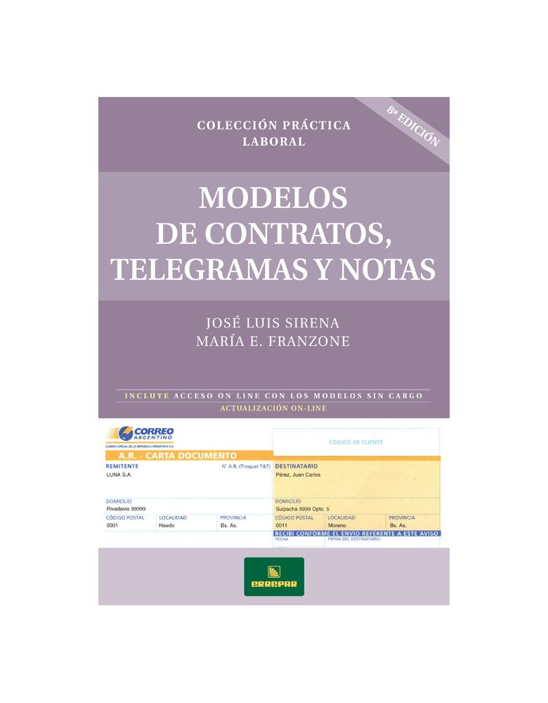 Modelos de Contratos Telegramas y Notas