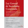 Ley general de sociedades comentada - Formato Rustico