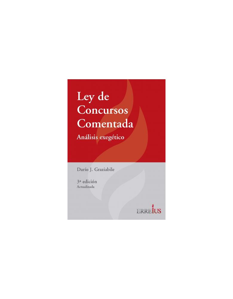 LEY DE CONCURSOS COMENTADA