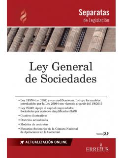 Separata de Ley general de sociedades