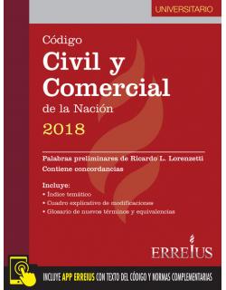 Código Civil y Comercial de la Nación 2018 - Formato Universitario