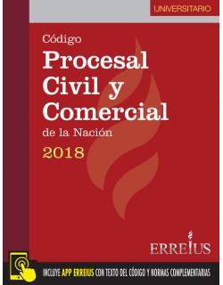 Código procesal civil y comercial de la Nación 2018 - Universitario