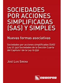 Sociedades por acciones simplificadas - SAS y simples