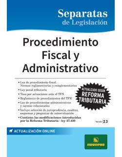 SEP. PROCEDIMIENTO FISCAL Y ADMINISTRATIVO 2.3