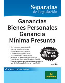 SEP. GANANCIAS - BIENES PERSONALES - GMP 2.8