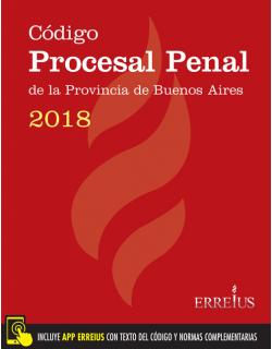 Código Procesal Penal de la provincia de Buenos Aires 2018