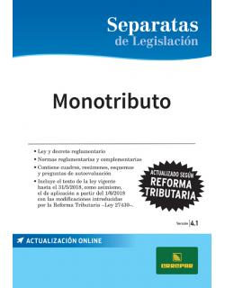 SEPARATA MONOTRIBUTO 4.1