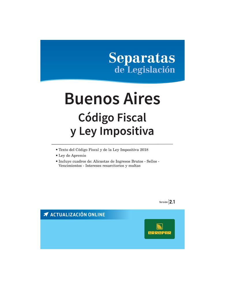 SEPARATA PROVINCIA DE BUENOS AIRES - CÓDIGO FISCAL 2.1