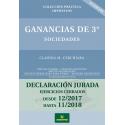 GANANCIA DE 3 SOCIEDADES