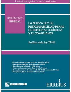 LA NUEVA LEY DE RESPONSABILIDAD PENAL DE PERSONAS JURIDICAS Y EL COMPLIANCE