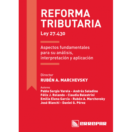 Reforma tributaria - Ley 27.430