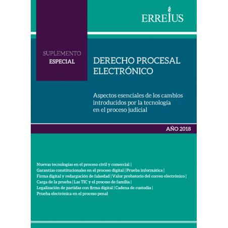 Derecho procesal electrónico