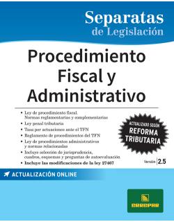 SEP. PROCEDIMIENTO FISCAL Y ADMINISTRATIVO 2.5