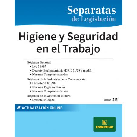 Separata de Higiene y seguridad en el trabajo