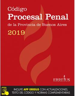 Código Procesal Penal de la provincia de Buenos Aires 2019 - Formato rustico