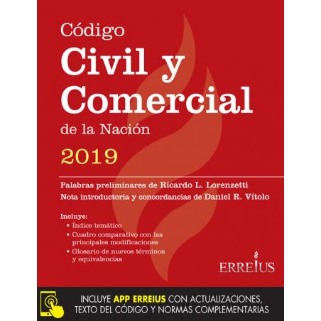 Código Civil y Comercial de la Nación 2019 - Formato rustico