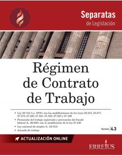 SEPARATA RÉGIMEN DE CONTRATO DE TRABAJO - VERSIÓN 4.3