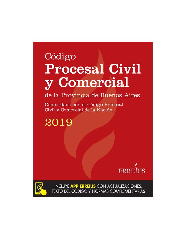 CÓDIGO PROCESAL CIVIL Y COMERCIAL DE LA PROVINCIA DE BUENOS AIRES 2019 - RUSTICO