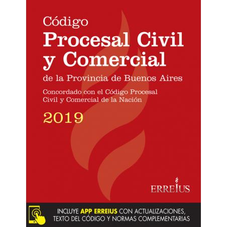Código procesal civil y comercial de la provincia de Buenos Aires 2019