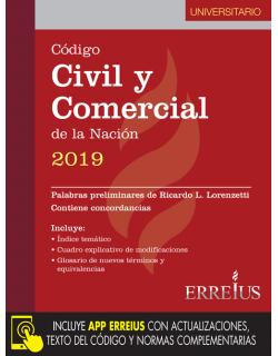 Código Civil y Comercial de la Nación 2019 - Versión universitaria