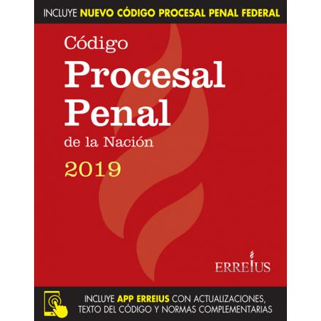 Código Procesal Penal Nación y Procesal Federal 2019 - Rustico