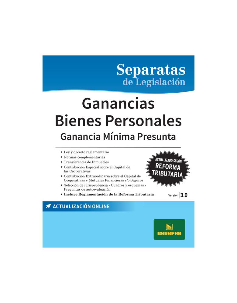 SEP. GANANCIAS - BIENES PERSONALES 3.0