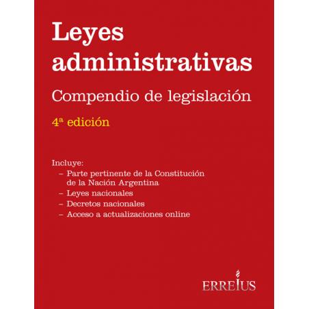 Leyes administrativas - Compendio de legislación