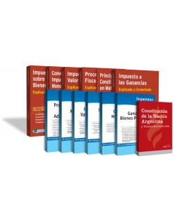 Colección impuestos explicados y comentados + Legislación