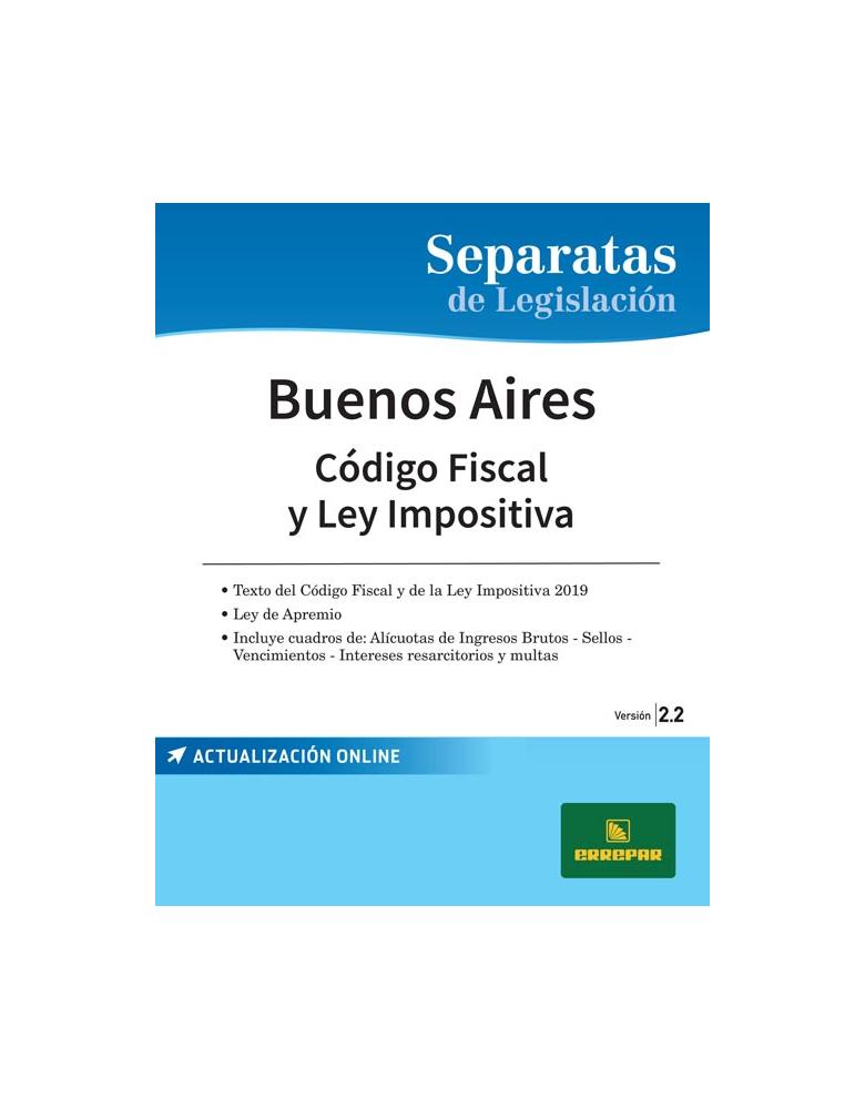 SEPARATA PROVINCIA DE BUENOS AIRES - CÓDIGO FISCAL 2.2