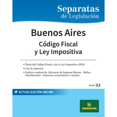 Separata de la Provincia de Buenos Aires - Código fiscal y ley impositiva
