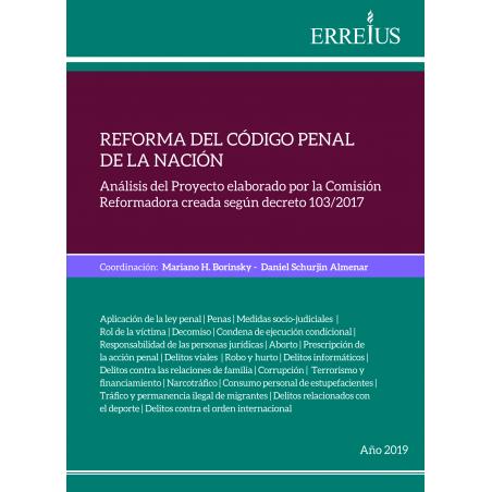 Reforma del Código penal de la Nación