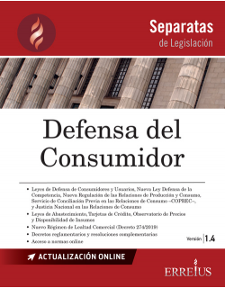 Separata de Defensa del consumidor