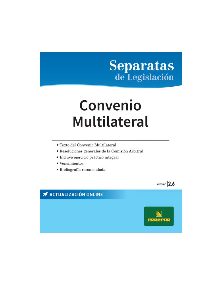 SEPARATA DE CONVENIO MULTILATERAL CON EJERCICIOS 2.6