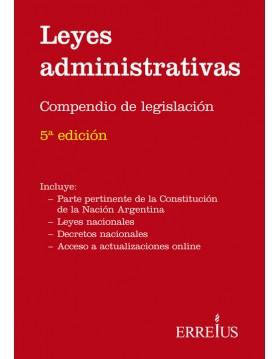Leyes administrativas...