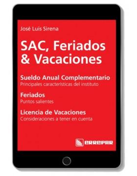 eBook - SAC, Feriados &...
