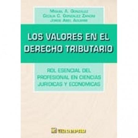Los Valores en el Derecho Tributario